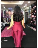 11A Grade  Super Double Drawn Raw Virgin Cambodia Sassy Flip (Human Hair) 200Grams