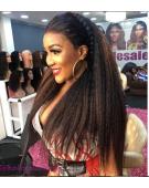 11A Grade Italian Kinky Straight Plus Frontal Deal  (Human Hair) 200Grams