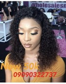50K Deep Curls Frontal Wig