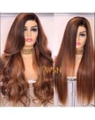 Customized Glueless Frontal Wig