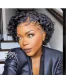 Pixie Cut T-Frontal Wig