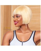 Double Drawn Blonde Wig