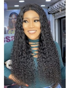 ARGENTINE DEEP CURLY WEAVE + CLOSURE DEAL (FREE WIGGING)