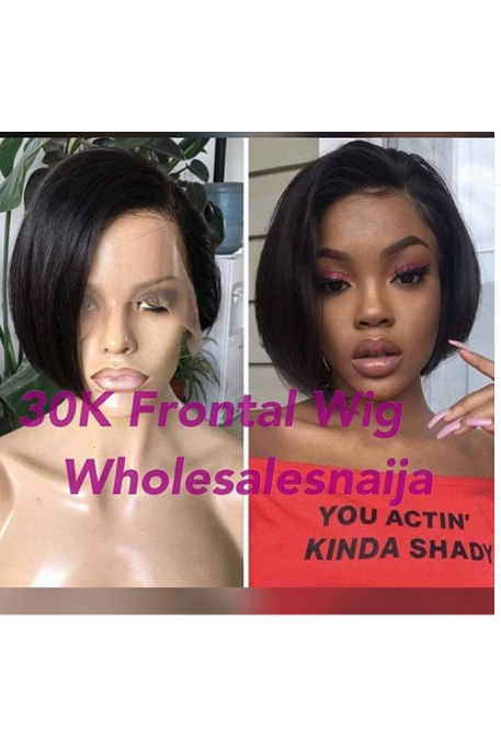 30k Super Double Drawn Frontal Wig