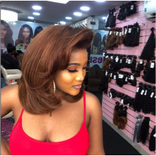 11A Grade Super Double Drawn Raw Donor Customize Wig (Human Hair)